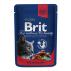 Brit Premium Cat Pouches with Beef Stew & Peas