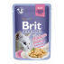 Brit Premium Cat Pouch with Chicken Fillets in Jelly for Adult Cats