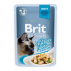 Brit Premium Cat Pouch with Chicken Fillets in Gravy for Adult Cats