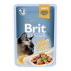 Brit Premium Cat Pouch with Tuna Fillets in Gravy for Adult Cats